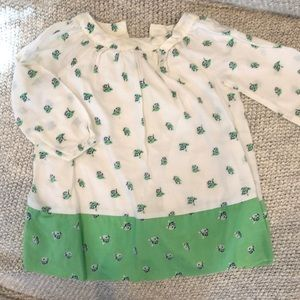Gap baby long sleeve dress, size 12-18m